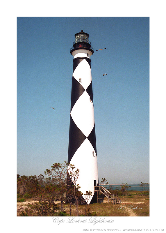 Cape Lookout Lighthouse Photo By Ken Buckner