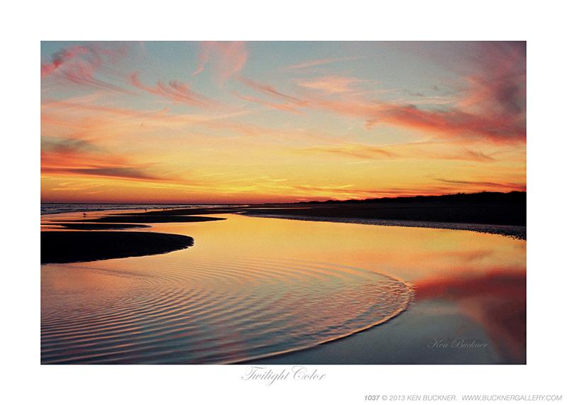 Twilight Color Photo By Ken Buckner