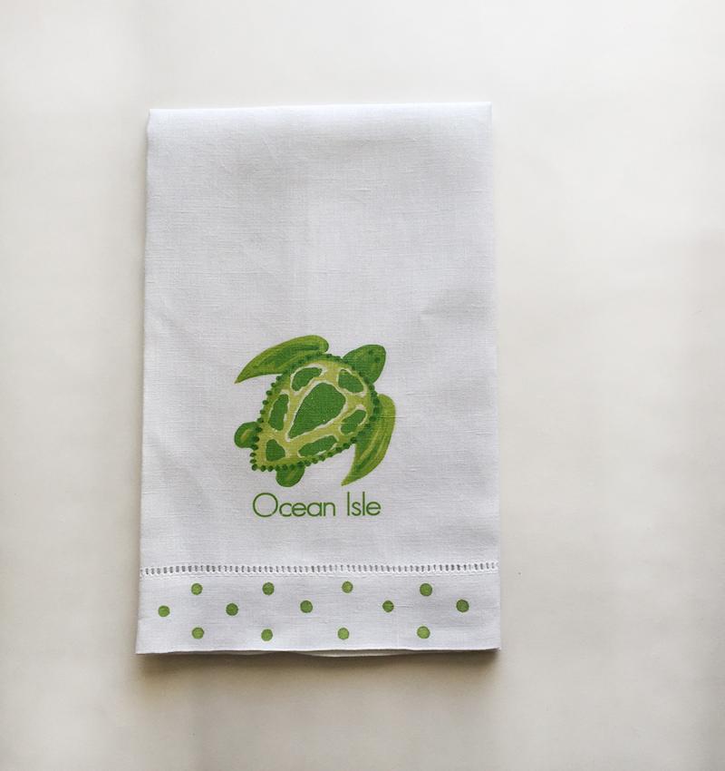Ocean Isle Beach Linen Towels