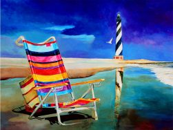 Beach Chair by Ivey Hayes