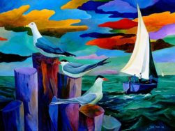 Gulls and Terns by Ivey Hayes