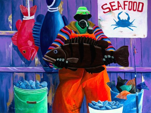 Seafood Day by Ivey Hayes