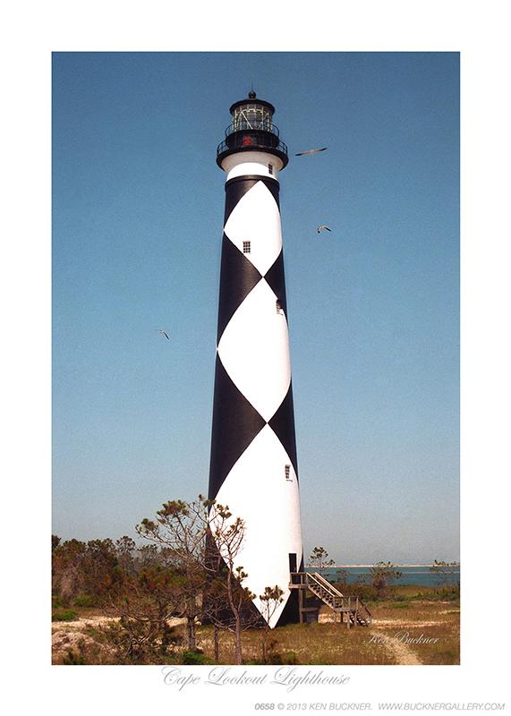 Cape Lookout Lighthouse Ken Buckner