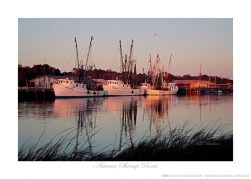Autumn Shrimp Boats Ken Buckner