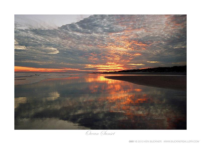 Ocean Sunset Ken Buckner