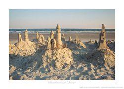 Sandcastles at Sunset Ken Buckner