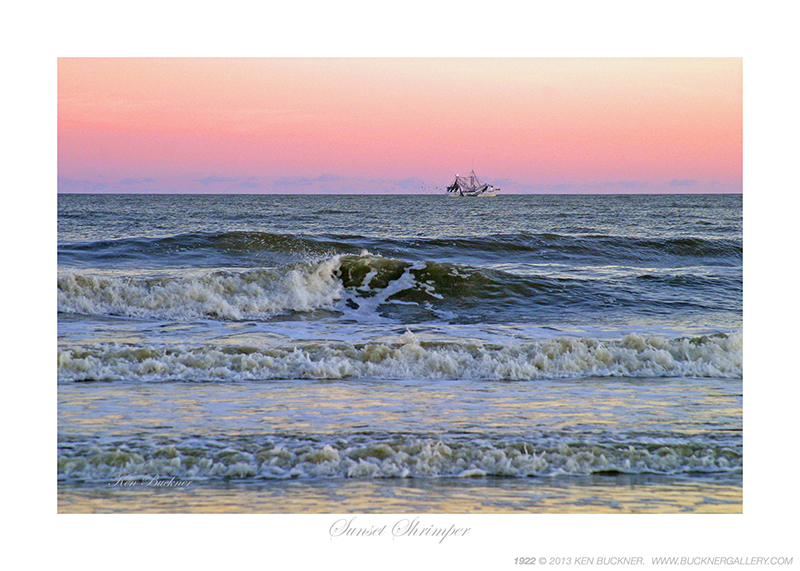 Sunset Shrimper Ken Buckner