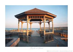 Gazebo at Sunset Ken Buckner