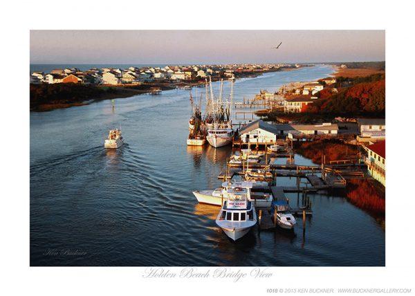 Holden Beach Bridge View Ken Buckner