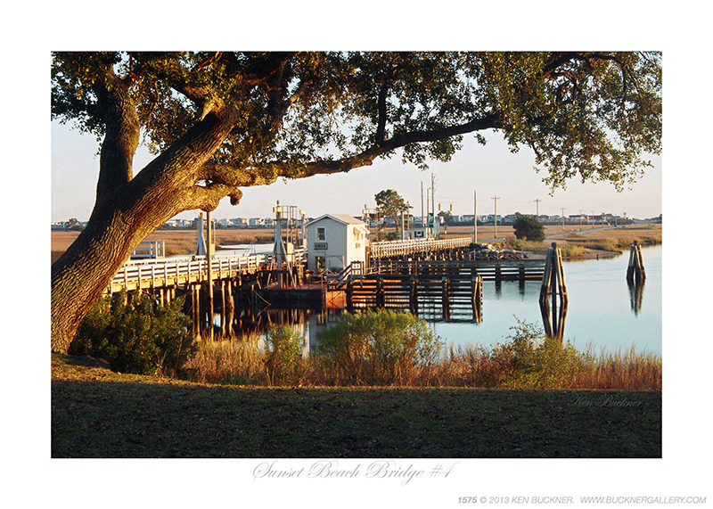 Sunset Beach Bridge #4 Ken Buckner