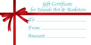 Islands Art Gift Certificate