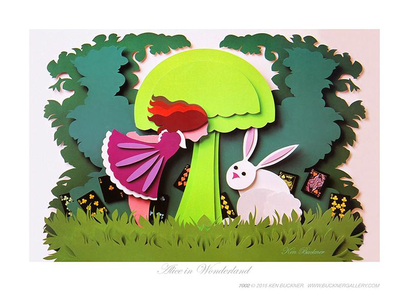 Alice in Wonderland Ken Buckner