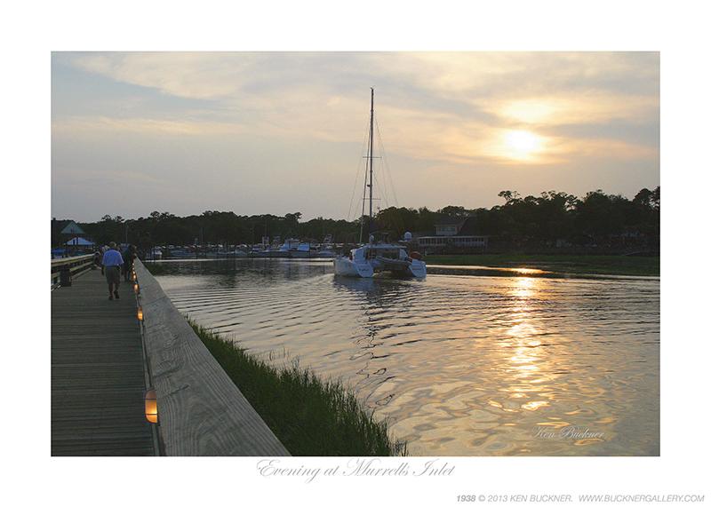 Evening at Murrell's Inlet Ken Buckner