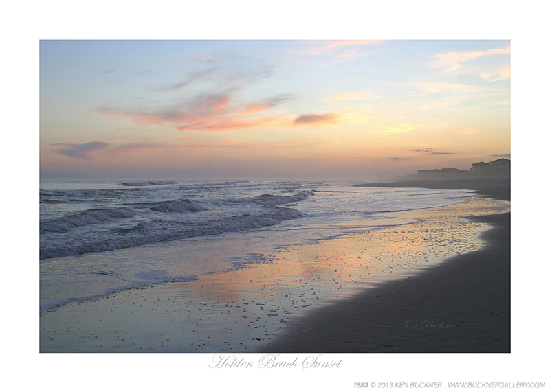 Holden Beach Sunset Ken Buckner