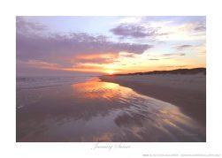January Sunset Ken Buckner