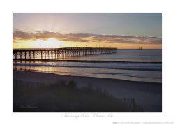 Morning Pier, Ocean Isle Ken Buckner