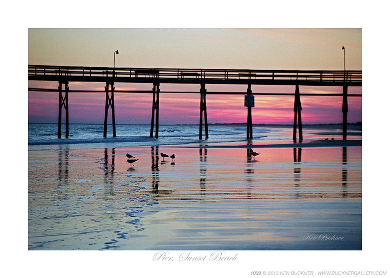 Pier Sunset Beach Ken Buckner