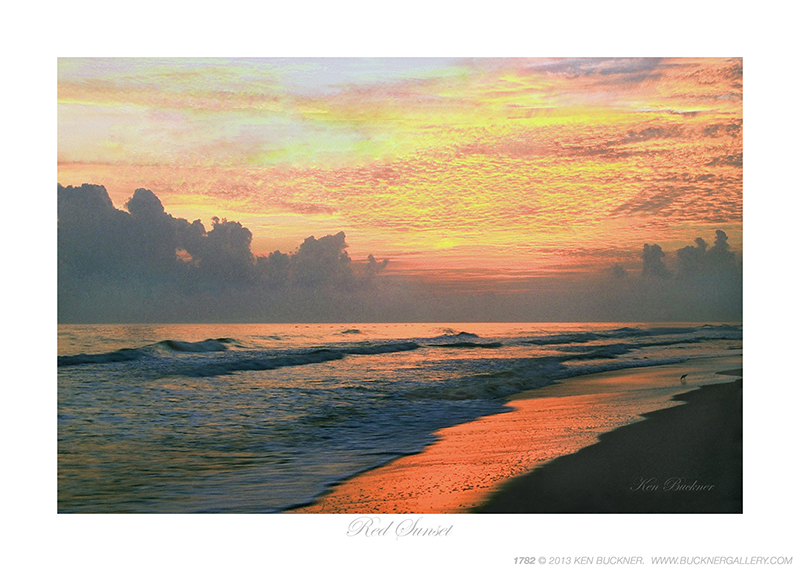 Red Sunset Ken Buckner