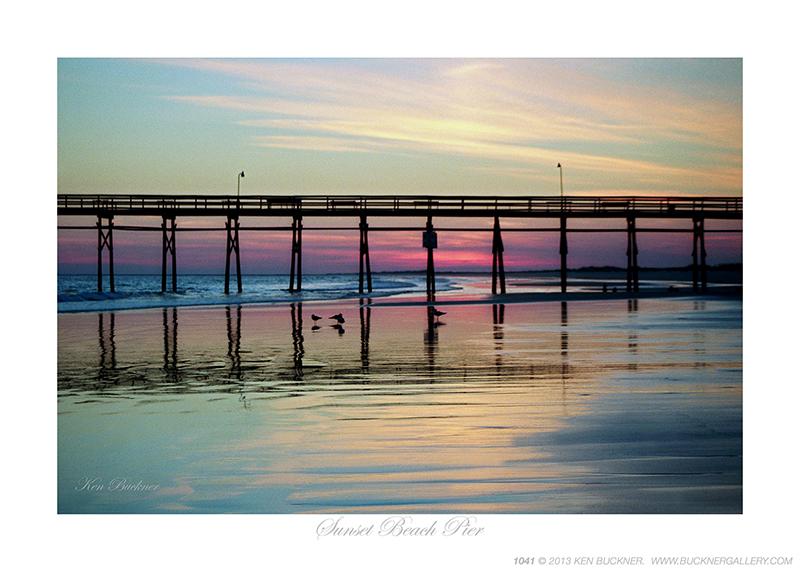 Sunset Beach Pier Ken Buckner
