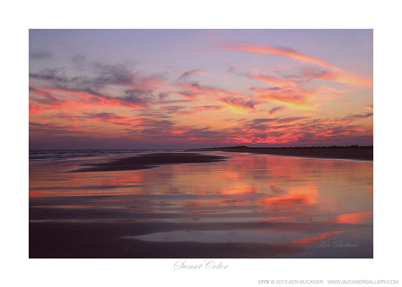 Sunset Color Ken Buckner