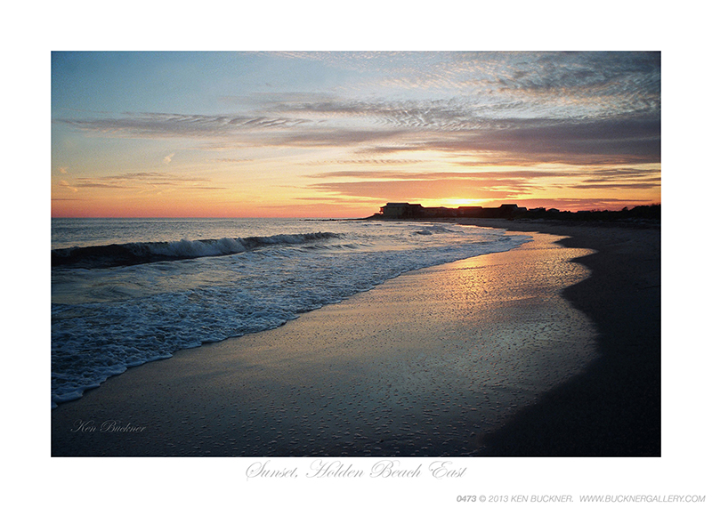 Sunset Holden Beach East Ken Buckner