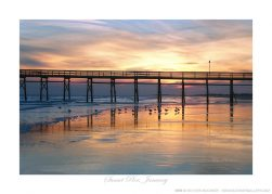 Sunset Pier, January Ken Buckner