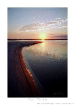 Sunset Waterway Ken Buckner