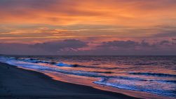 Rainbow Sunset Ocean Isle Beach Photo by Dwayne Schmidt