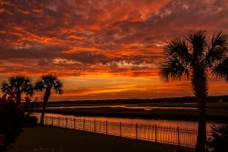 Tropical Skies Ocean Isle Beach Photo by Dwayne Schmidt
