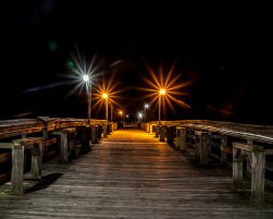 Pier Walk by Dwayne Schmidt