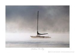 Sailboat & Fog - Photo by Ken Buckner