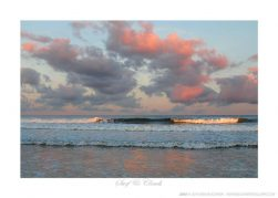 Surf & Clouds - Photo by Ken Buckner