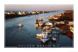 Holden Beach Poster