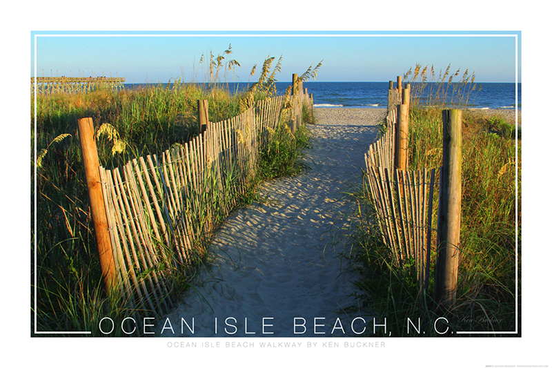 Ocean Isle Beach Poster