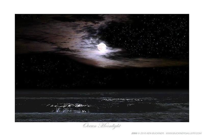 Ocean Moonlight Photo by Ken Buckner