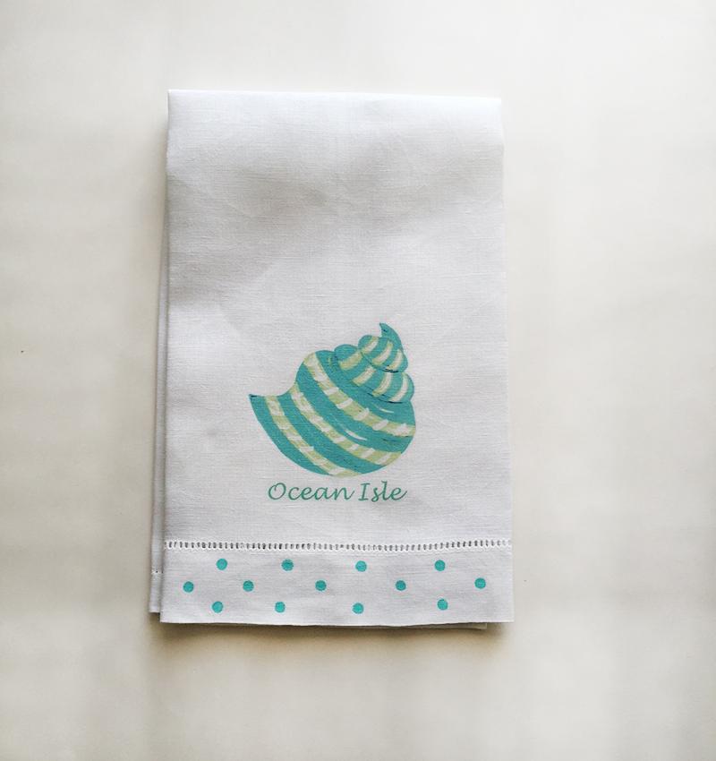 Shell Towel Ocean Isle Beach