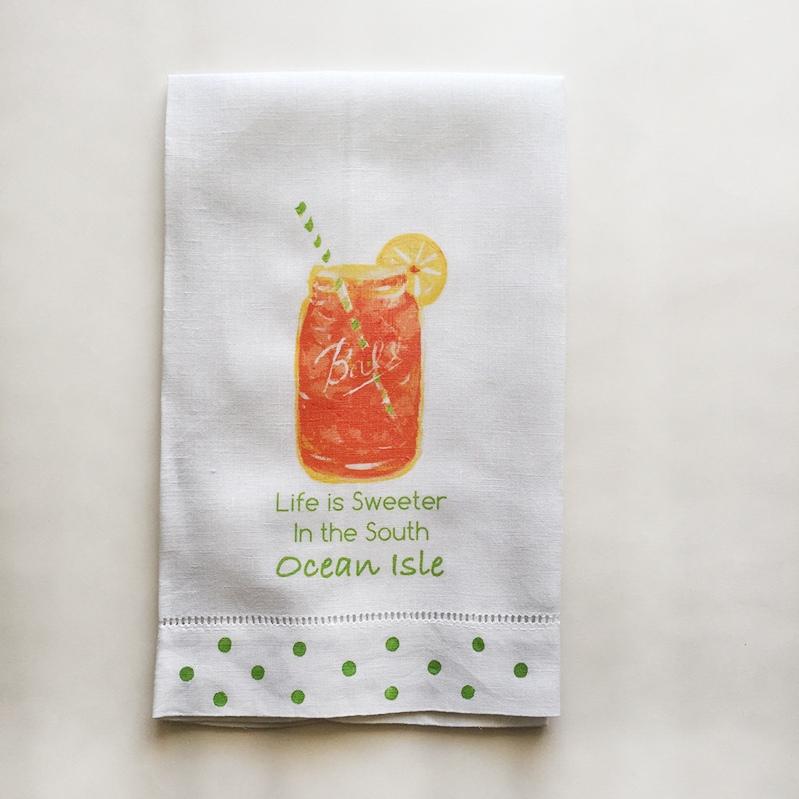 Sweet Tea Towel Ocean Isle Beach