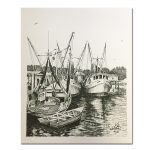 fishing-boats-black-and-white-print-by-keith-white