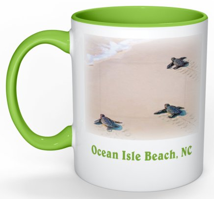 Steps to the Sea Ocean Isle Beach Mug