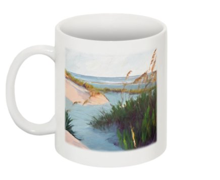 Between the Dunes Mug