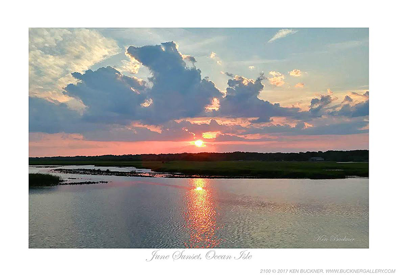 June Sunset Ocean Isle