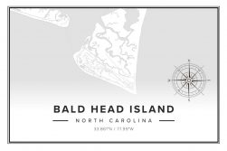 Bald Head Island Map