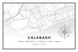 Calabash NC Map