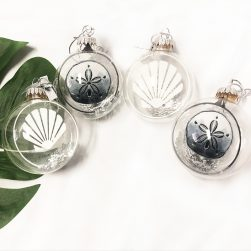 Coastal Beach Christmas Ornaments