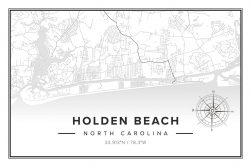 Holden Beach Map