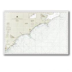 North Carolina Coast Nautical Chart