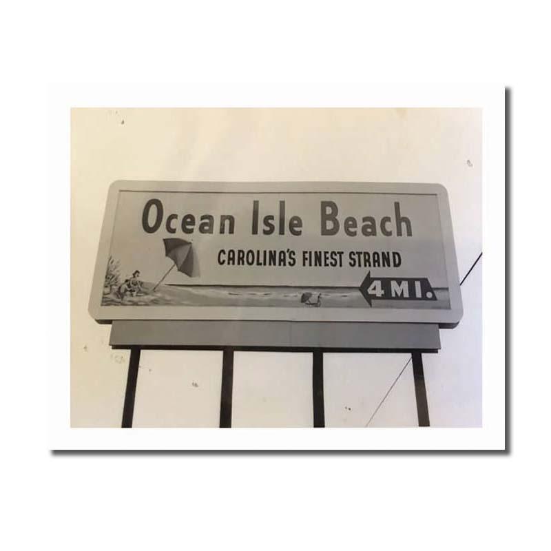 Ocean Isle Beach Vintage Prints