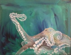 Octopus Green Mike Watters