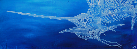 Sailfish Blue Mike Watters